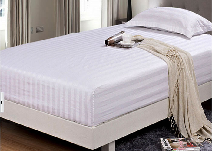 View Big Picture. T180 White Percale Fitted Sheet